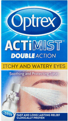 Optrex Actimist Double Action Itchy and Watery Eyes - 10ml 2 in 1 eye spray