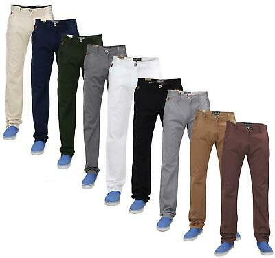 b5bf0ed17f1d12 Jacksouth Mens Chinos Regular Fit Jeans Cotton Rich Stretch Twill Trousers  Pants