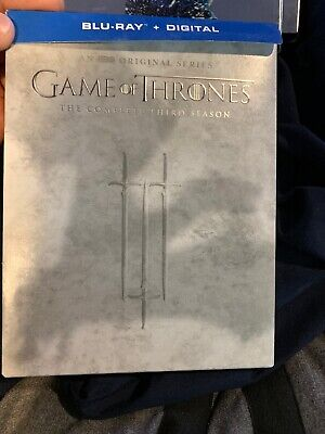 Game of Thrones: Complete Third 3 3rd Season Blu-ray
