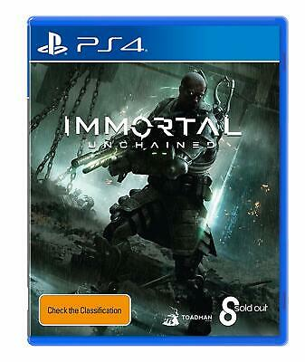 SoldOut Immortal Unchained PlayStation 4 PS4 Gaming Playing Gameplay Video Games