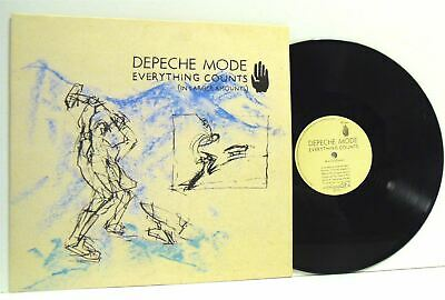 DEPECHE MODE everything counts (in larger amounts) 12 INCH EX/EX 12 BONG 3 vinyl