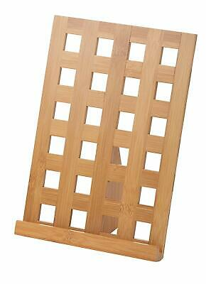 Davis + Waddell DES0182 Lattice Bamboo Tablet Holder, Off-White