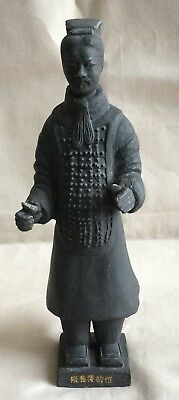 CHINESE ANTIQUE WARRIOR SOLDIER STATUE  - Make an offer!