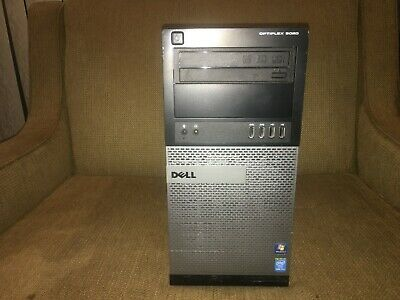 Dell Optiplex 9020 Tower Intel Core i7-4770 3.4GHz 8GB RAM 1TB HDD Win 10 Pro