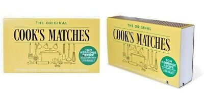 The Original Cooks Safety Matches Kitchen BBQ Candles Home buy 1, 3, 6, 12
