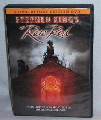 Rare Oop Stephen King Rose Red 2 Disc Deluxe Edition Made For Tv Movie Dvd 2001