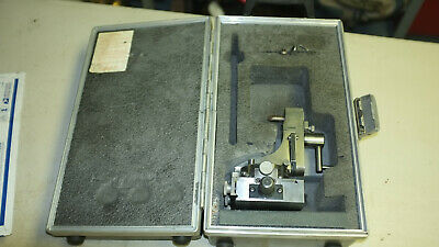 J & S FLUIDMOTION RADII & ANGLE DRESSER Model Micrometer base & case late model