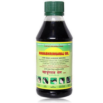 10 X 100ml Bottles MahaBhringraj Hair Oil Eclipta alba Brahmi Amla Hair Growth