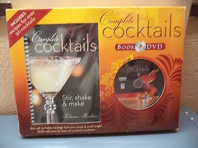 Complete Cocktails Lesson Book 64 Pages 1 Hour DVD Set Sebastian Beaburn New