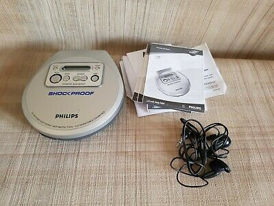 Philips Shockproof Portable Silver CD Player AX2200 - Tested