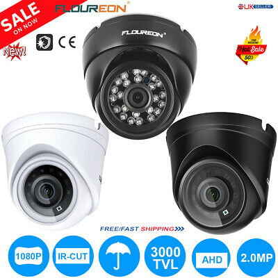 1080P 3000TVL AHD CCTV DVR TVI Analog Dome Camera Indoor Outdoor IR Night Vision