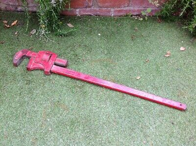 "Large Record 36"" Pipe Wrench Stilsons - Quality Record Pipe Tool Expensive New"