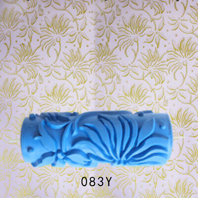 5'' Embossed Pattern Paint Roller Wall Painting Edger Runner Tool #13