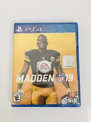 Madden NFL 19 - PlayStation 4 PS4 ✨Brand New & Sealed Rated E ✅