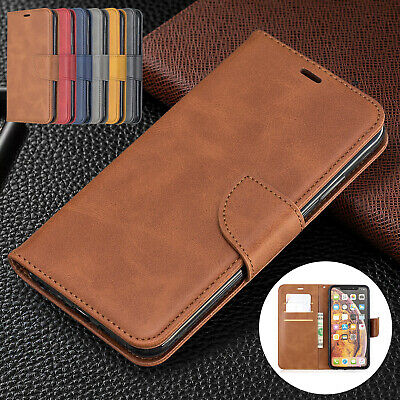 For iPhone 8 Plus 7 6s 5 XS Max XR Case Magnetic Flip Leather Wallet Stand Cover