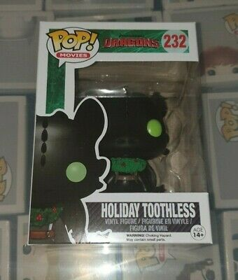 Funko Pop  How To Train Your Dragon Holiday Toothless #232