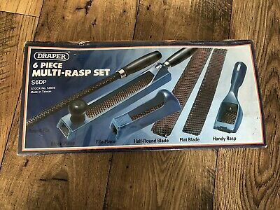 Draper Soft-Grip Multi Rasp Set