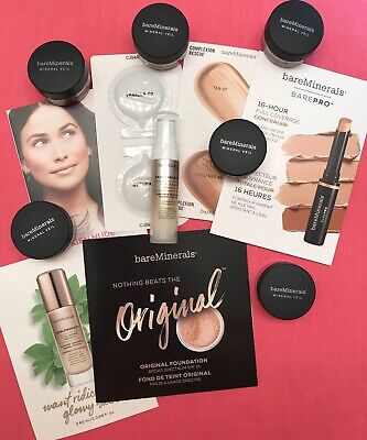 13 BareMinerals® Samples most Travel Size Mineral Veil Complexion Rescue NEW