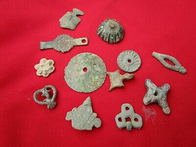 Metal detector findings - Roman, Celtic period - bronze , copper . lead .