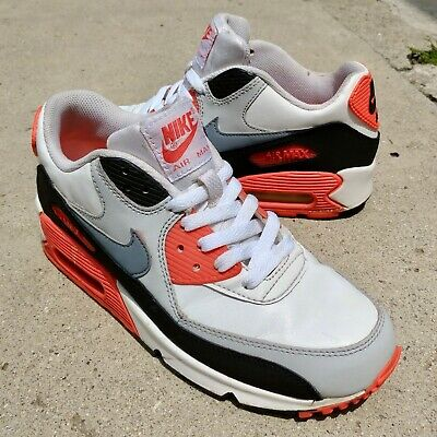 NIKE AIR MAX 90 INFRARED OG Colorway (307793 137) Youth Boys Size 6