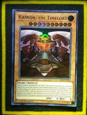 Yugioh 3x Kamion The Timelord BLLR-EN034 NM