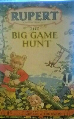 RUPERT ADVENTURE SERIES No. 5 Big Game Hunt & No. 8 The Wicked Uncle