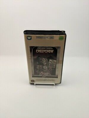 'Creepshow' VHS Clamshell Case ~ Warner Home Video / George Romero ~ Tested!