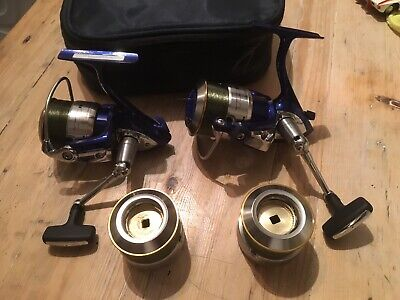 Daiwa Tdr 3012 Reel X 2 With Connoisseur Case -  Used Twice With Spare Spools