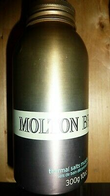 Molton Brown THERMAL SALTS MUSCLE SOAK Bath 300G Linden Birch VHTF Large RARE!!!