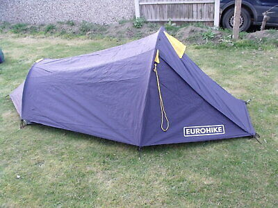 EUROHIKE BACKPACKER 210TS lightweight tent,blue,good used condition