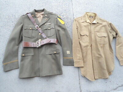 WWII US Army 7th Cavalry Uniform Jacket and Pants 1941