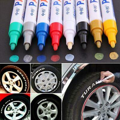 1x Universal Waterproof Permanent Paint Marker Pen Car Tyre Tire Tread Rubber BG