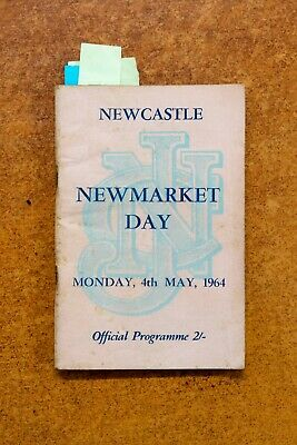 1964 Newcastle Newmarket Day race book