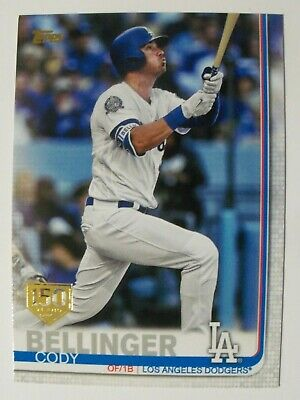 2019 Topps Series 2 150th Anniversary Gold Stamped Parallel You Pick Drop List