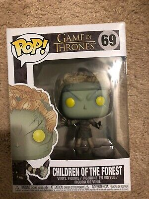 Game Of Thrones Funko Pop: Metallic Children Of The Forest In Hand