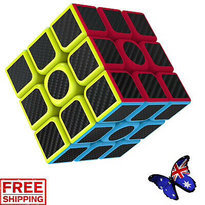 3x3x3 Smooth Speed Magic Rubiks Cube Puzzle Easy Twist Educational Kid Gift Toys