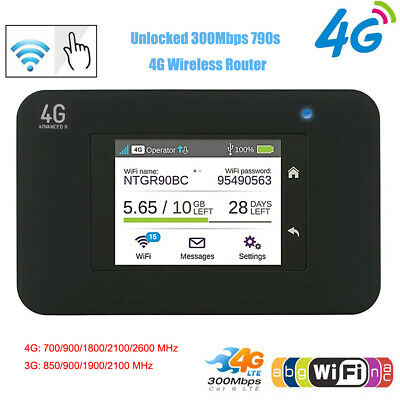 Unlocked Cat6 300mbps 790s AC790S Aircard 4G LTE WiFi Router Dongle 4G 2.4G/5G