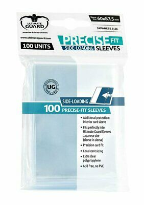 Sleeves Ultimate Guard Precise Fit Side Loading Japanses Size (100)