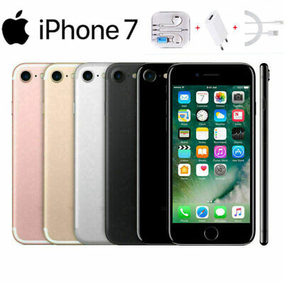 Apple iPhone 7 - 32GB/128GB/256GB - UNLOCKED-Various Grades & Colors Smartphone