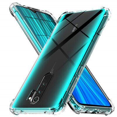 Shockproof Clear Silicone Cover Case For Xiaomi Redmi 7A 7 6A 4 Note 8 7 6 5 Pro