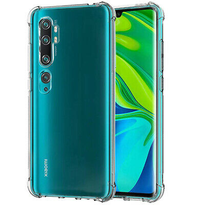 Shockproof Clear Silicone Case Cover For Xiaomi Mi 9 SE 8 A2 Lite A1 Pocphone F1
