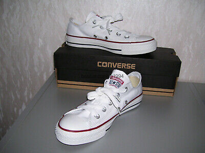 Converse All Star Chucks ox low weiß weiss optical white 36 37 38 39 40 41 neu++