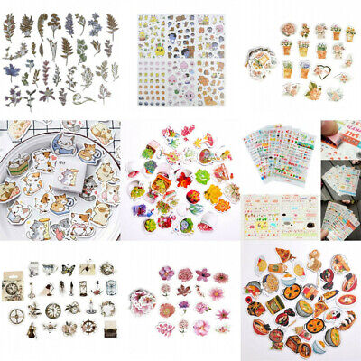 Korean Cartoon Decorative Stickers Cute Scrapbooking DIY Stationery Diary Decals