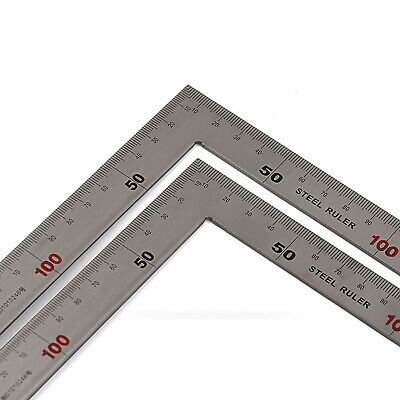 L Square Angle Ruler, 150*300mm / 250*500mm, L Right Angle Stainless Steel Ruler
