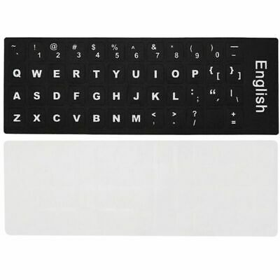 Computer Pc Laptop Keyboard Stickers Russian French Arabic English Film Cover