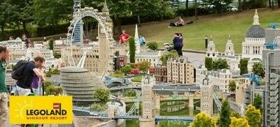 1 x Legoland Windsor Tickets **Wednesday September 4th** School Holiday