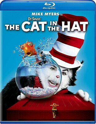 Dr Seuss The Cat in the Hat Blu-ray Mike Myers NEW