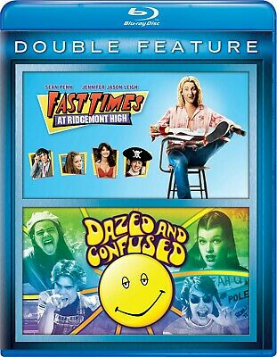 Fast Times at Ridgemont High/Dazed and Confused Blu-ray  NEW