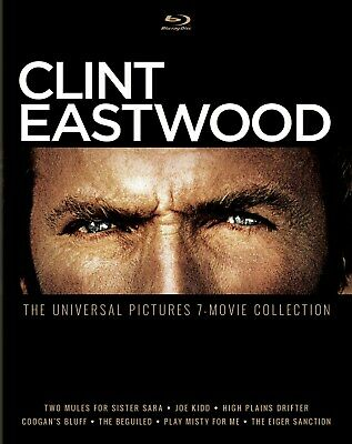 Clint Eastwood The Universal Pictures 7-movie Collection Blu-ray  NEW