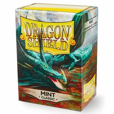 Dragon Shield Card Sleeves Box 100 Mint Protect Your Cards Polypropylene Sleeves